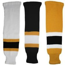 Boston Bruins KNIT Hockey Socks TRON x SK200 NHL Team Colors