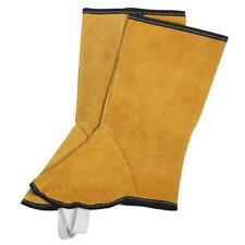 Split Leather Welding Spats Shoes Flame Resistant Welder Foot tect Cover AU