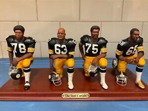 "Danbury Mint  -  Pittsburgh Steelers .......... ""The Steel Curtain"""