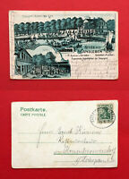 Litho AK WANSLEBEN 1907 Restaurant zum Seebad   ( 57304