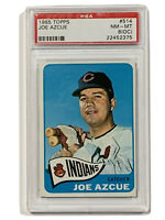 1965 Topps Joe Azcue #514 PSA 8 OC NM-MT