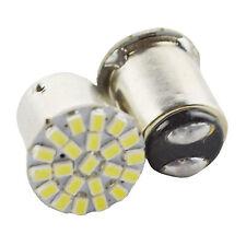 2Pcs T20 1157 Super bright White  22 LED Car Brake Stop Tail Light Bulb