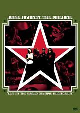 RAGE AGAINST THE MACHINE - LIVE AT THE GRAND OLYMPIC AUDITORIUM DVD ~ RATM *NEW*