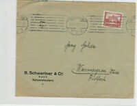 German Postal History Stamps Cover Ref: R4674