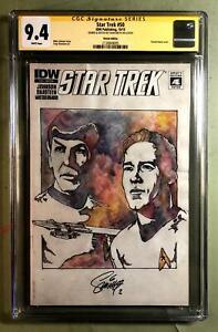 STAR TREK 50, CGC (Signature Series) 9.4, Original COVER Art (SHIPS FREE) *