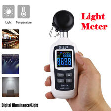 Digital Luxmeter Light Meter LCD 200000 Lux Photometer Illuminometer Luminometer