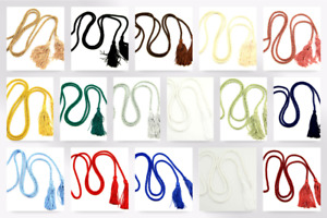 Dressing Gown Cord with Tassels - each (9075-M)
