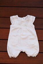 NEW Baby Girl Summer Cotton & Lace Bodysuit Romper size NB Newborn photo prop