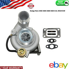 HE351CW Turbo Turbocharger For Dodge Ram 04-07 5.9L Ref:5143256AA 60-86-90.5mm