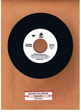 DION, CELINE - BECAUSE YOU LOVED ME  45 RPM 550 MUSIC/EPIC LIMITED UNPLAYED 1996