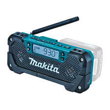 Makita CORDLESS JOBSITE RADIO MR052 12V Max, Dual Front Speakers, LCD Display