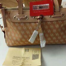 Dooney & Bourke Signature Zip-Top Medium Tassel Tote Bag BNWT
