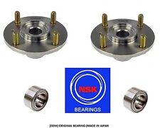 Honda Accord (4 Cylinder) 1998-2002 Front Wheel Hub&(OEM) NSK Bearing Kit (PAIR)
