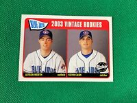 2003 Upper Deck Vintage #232 Jayson Werth Kevin Cash Toronto Blue Jays