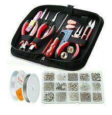 Jewellery Making Kit,1275 pcs Jewellery Finding Set,17 pcs Jewellery Repair Tool