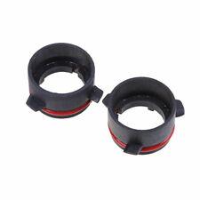 2x Black Car HID Xenon Lamp bulb H7 Adapter Holder For BMW E39 528 525 E60 D2S
