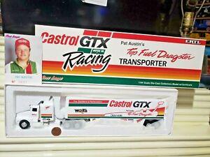 Ertl Race Image Limited Edn. 1992 1/64 PAT AUSTIN CASTROL GTX RACING Transporter