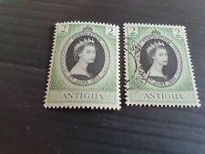 ANTIGUA 1953 SG 120 CORONATION MNH & USED
