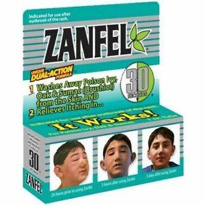 Zanfel Relieves Itch Poison Ivy, Oak, Sumac, Rash, Outbreak 1 oz. - Exp 01/2030^