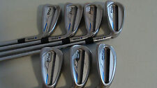 PING i E1 iron set 5-PW + U Blue Dot KBS Tour125 stiff flex NICE! iE1 i E1