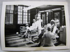 PHOTO Continental Hotel Chicago BARBER SHOP Black & White Barbers 50s A WAVE