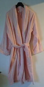 Baby Pink Towelling Dressing Gown Unisex Size XXL NEW