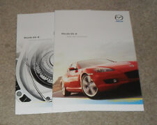 Mazda RX-8 Brochure & Specification Guide 2004 - RX8 Coupe 192ps & 231ps