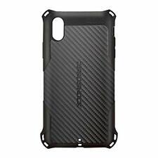 ELECOM iPhone XS Max Case Black PMWA18DZEROGBK ZEROSHOCK TPU carbon JAPAN