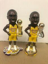 Kobe Bryant Los Angles Lakers 2009 FOCO NBA Champs & Finals MVP Bobbleheads NIB