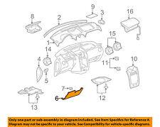 Chevrolet GM OEM 06-11 HHR Instrument Panel Dash-Column Filler 22736585