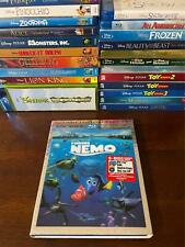 Disney Finding Nemo Ultimate Collector's Edition 3D Blu Ray 5 disc w/ Sleeve Box