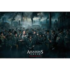 "ASSASSIN'S CREED SYNDICATE POSTER ""LICENSED"" BRAND NEW ""CROWD""SIZE 61cm X 91.5cm"
