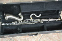 BUESCHER U.S.A Bb BASS CLARINET, READY TO PLAY/clarinetto basso funzionante