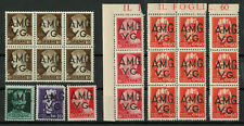 Italy, Trieste A.M.G.V.G. - Lot of Stamps