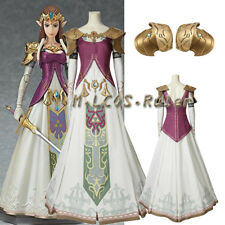 The Legend of Zelda: Twilight Princess Princess Zelda Cosplay Costume Customized