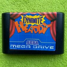 Mega Drive-Dynamite Headdy (solo módulo)