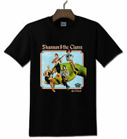 Shannon and the Clams Black T-Shirt Unisex S-3XL Tee Short Sleeve For Men Women