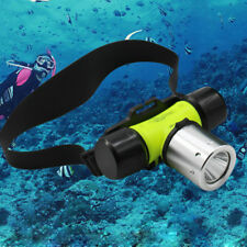 800LM LED Headlamp Underwater Diving Headlight Torch Waterproof Flashlight
