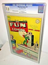 More Fun Comics #99, CGC 7.0, Cream to Off-White Pages