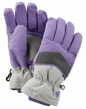 New OshKosh Ski Gloves Winter Glove size 4 5 6 6X year Kid Girl NWT Purple Gray