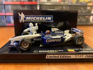 Juan Pablo Montoya Williams BMW FW24 2002 Michelin Edition - Minichamps 1:43