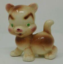 Rempel Cuddly the Cat Pottery Figurine Diamond Mfg Co 1950's Deegie