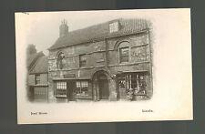 Mint Lincoln England RPPC Postcard Jew's House Judaica