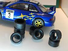 8 PNEUS URETHANE Subaru Hornby  SCALEXTRIC