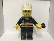 Lego Fireman Windup Dynamo Torch