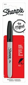 Sharpie Fine Point Permanent Marker AP Certified, Black Color, Pack of 1