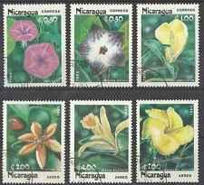 Timbres Flore Nicaragua 1365/7 PA1090/2 o lot 2960