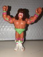 Hasbro WWF WWE Ultimate Warrior Series 2 Wrestling Action Figure Vtg Retro