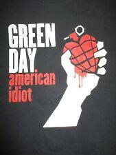 2005 GREEN DAY AMERICAN IDIOT (LG) T-Shirt Billy Joe Armstrong