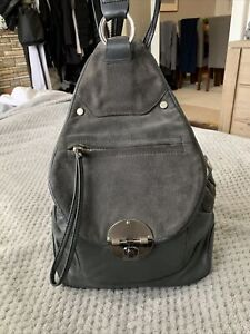 Mimco Grey Back Pack